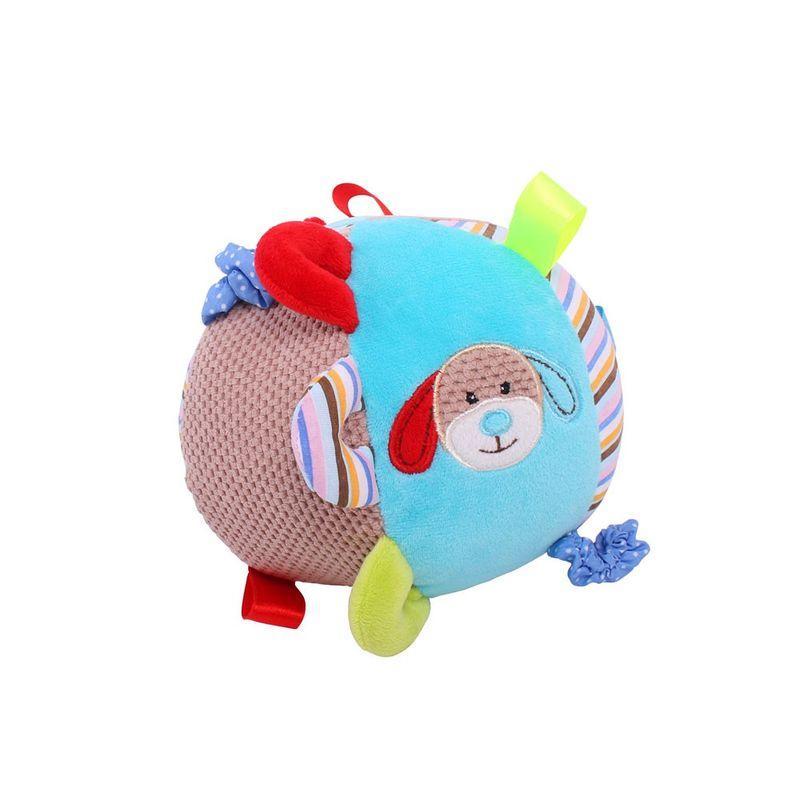 Bigjigs textilní motorická koule - Pejsek Bruno
