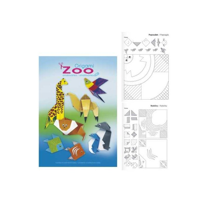 Origami A4 – ZOO