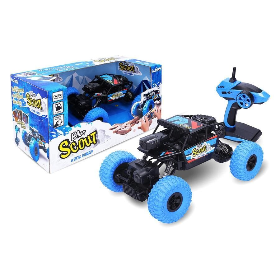 ROCK BUGGY Blue Scout