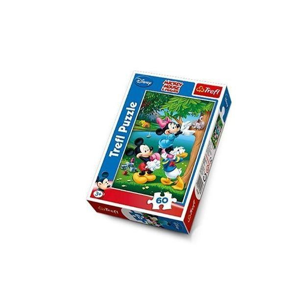 Puzzle Mickey Mouse Piknik