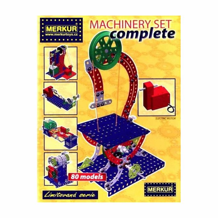 Stavebnice PROMA Machinery set COMPLETE