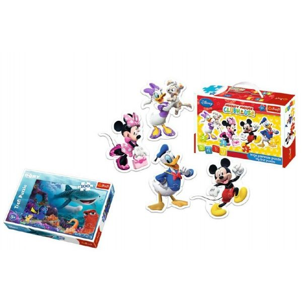 Baby Puzzle Mickey Mouse + Puzzle 100