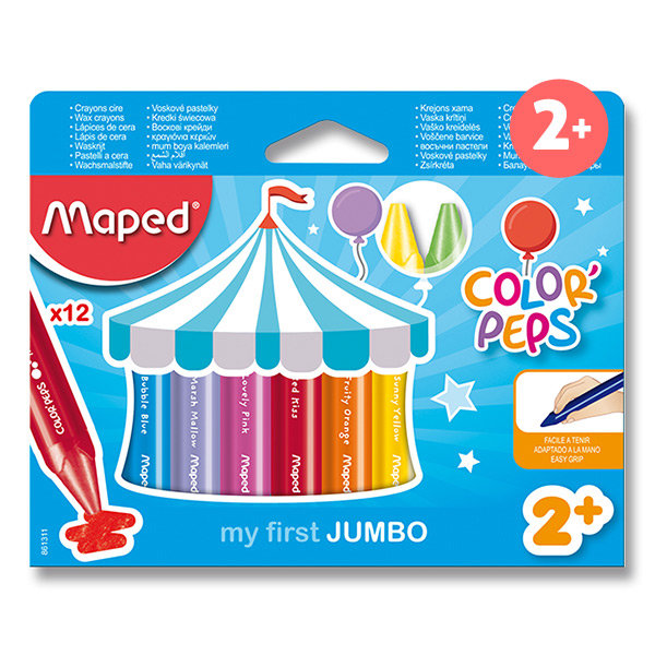 Voskovky Maped color´peps Wax jumbo